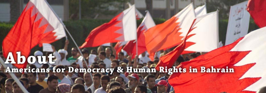 About Americans for Democracy & Human Rights in Bahrain