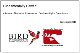 BIRD and ADHRB publish report on Prisoners and Detainees Rights Commission: Fundamentally Flawed